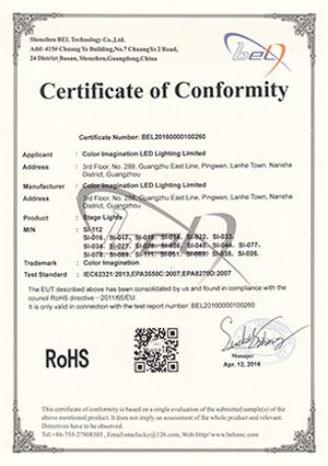 Color-Imagination-SI-112-ROHS-Certificate