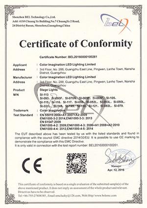 Color-Imagination-SI-113-EMC-Certificate