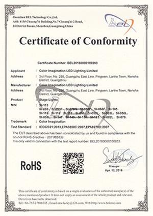 Color-Imagination-SI-113-ROHS-Certificate