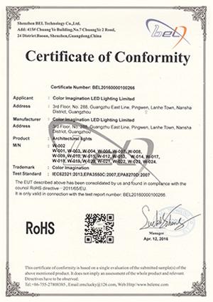 Color-Imagination-W-002-ROHS-Certificate