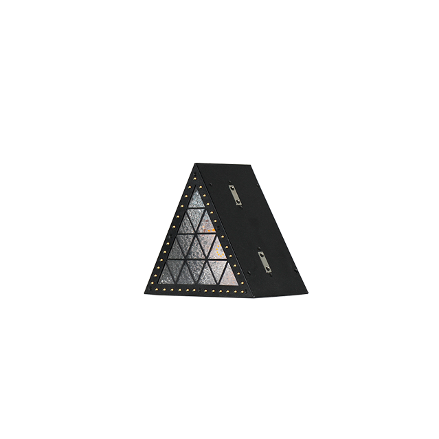 Mini Triangle LED DMX Lights|Indoor Special Effects Lighting|Mini Dmx Studio LED