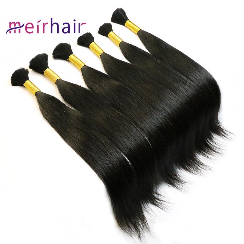 Virgin Human Hair Bulk Can Be Dye #613-HB01