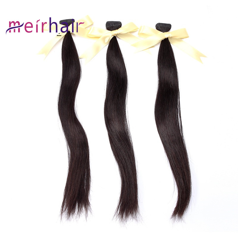 Tape-in Hair Extensions Natural Color Straight Wave-CL04