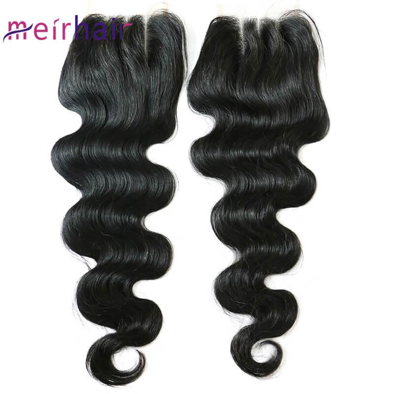 Brazilian Human Hair Lace Closure 4x4 Three Part